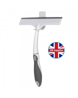 Croydex Window Wiper Glass Squegee Soap Cleaner Blade Home Bathroom Shower