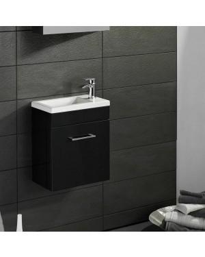 Lomond 400mm Wall Hung Vanity Unit ANTHRACITE GREY Incl Sleek Basin Mixer Tap
