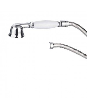 Traditional Shower Handset Incl Shower Hose 1.5mtr Chrome