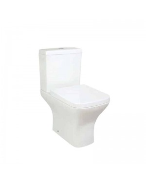 Venice Closed Coupled Pan & Cistern Incl Soft Close Seat White