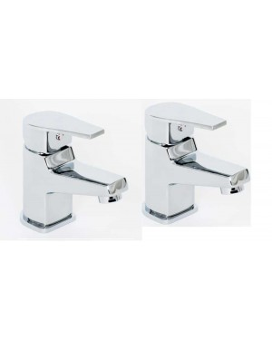 Modern Contemporary DALRY Basin Taps in Chrome