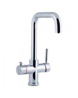 Reginox - Amanzi Instant Hot Boiling Water Kitchen Sink Mixer Tap Chrome