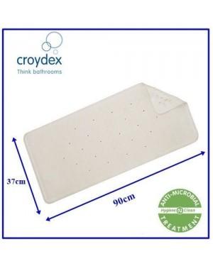 Croydex Large Rubagrip Bath Mat - 90 x 37cm