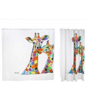 Designer Francie & Josie Shower Curtain Water Resistant Fabric by Steven Brown