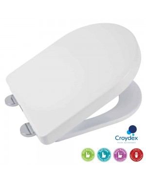 Croydex Eyre Soft Close Toilet Seat