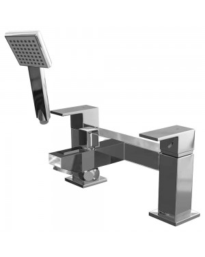 Form Bath Shower Mixer Tap Chrome