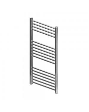 1200 x 500 Wingrave Chrome heated towel rail straight
