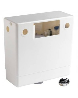 Pura Pneumatic Concealed Cistern with Dual Flush Air Button