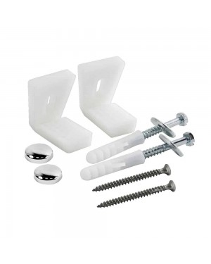 W C Toilet Pan Floor Fixing Kit Bathroom Fixture