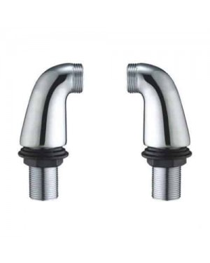 BATH SHOWER MIXER TAP LEGS PILLAR CONVERT WALL MOUNTED MIXER TO DECK MOUNTED