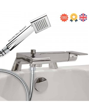 Loreto Deck Mounted Bath Shower Mixer