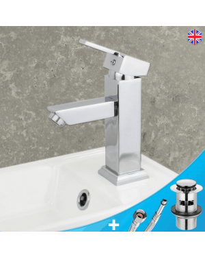 Square Basin Mixer Tap