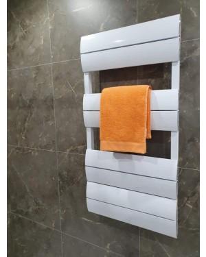 Sanday Slim Bathroom Towel Warmer White 1000mm x 500mm