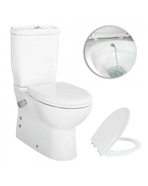 Creavit SD318 Sedef Combined Bidet Short projection Toilet WC pan seat cistern