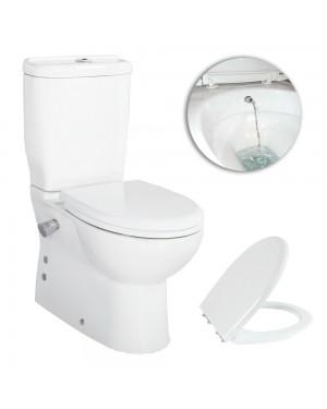 Creavit SD318 Sedef Combined Bidet Short projection Toilet WC pan seat cistern