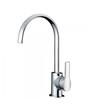 Reginox - Lissini Chrome Mono Kitchen Sink Mixer Tap Single Lever