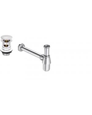 Easy clean Basin/Sink  Waste Slotted including Basin/Sink Bottle Trap