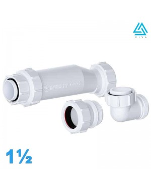 Viva 40mm Bath Self-Sealing Waste Valve 1 1/2""