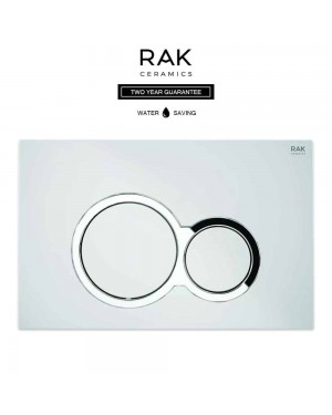 RAK Round Flush Plate Chrome