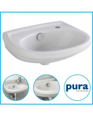 Pura Wall Hung Basin (Not Corner)