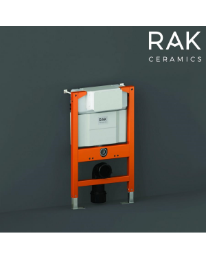 RAK Adjustable Wall Hung Toilet Concealed Cistern Frame Top & Flush Front Access