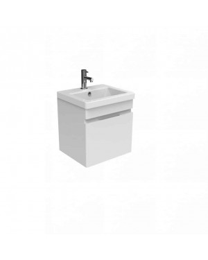Saneux AIR 400mm Wall Hung Vanity Unit Gloss White