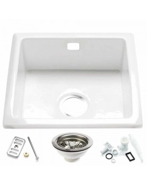 RAK Inset Kitchen Sink & Waste Overflow Kit