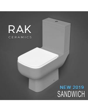 RAK Series 600 Slimline Sandwich Edition Toilet Seat