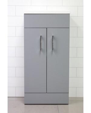 Lomond Matt Grey 400mm Bathroom Vanity Unit & Basin/Sink