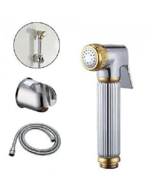 Shower Douche Bidet Shower Spray Kit Shataf Set Chrome/Gold